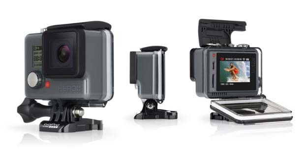 Actioncam mit Touchscreen: Die GoPro Hero+ LCD