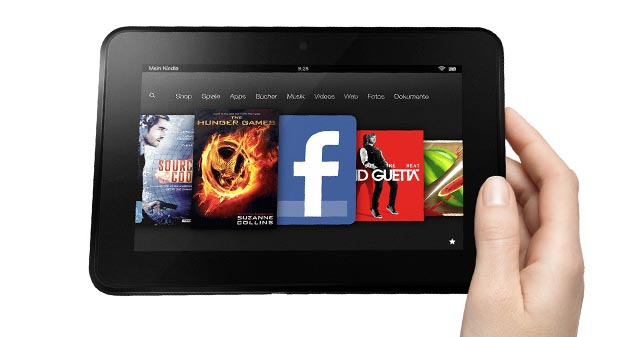 Amazon: Neue Kindle-Fire-Modelle