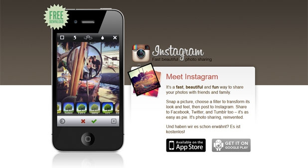 Malware durch Fake-Instagram-App