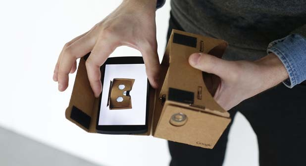 Google arbeitet an Virtual-Reality-Android